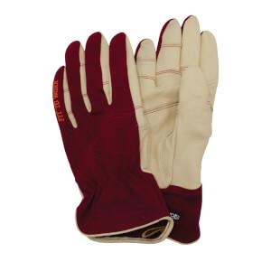 Stonebreaker Womens Everyday Work Gloves - Medium - Burgundy