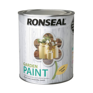 Ronseal Garden Paint - Lemon Tree 750ml