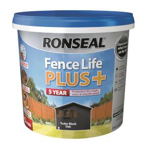Ronseal Fence Life Plus - Tudor Black Oak 5L