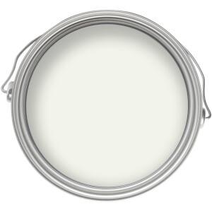 Homebase Exterior Satin Paint - Brilliant White 750ml