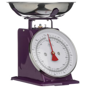 Purple Standing Kitchen Scale - 5kg