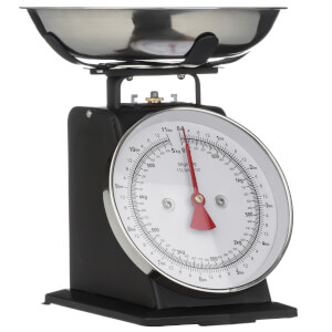 Matt Black Standing Kitchen Scale Matt - 5kg