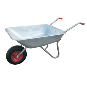 Homebase Galvanised Wheelbarrow