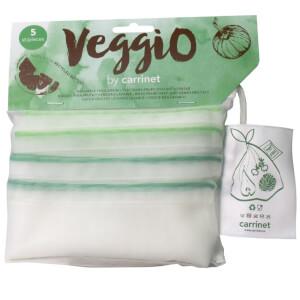 Carrinet Veggio Reuseable rPET Bags - Two Packs of 5