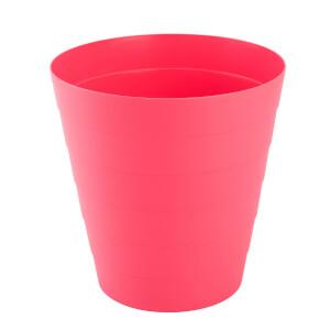 Plastic Waste Bin - Pink - 6L