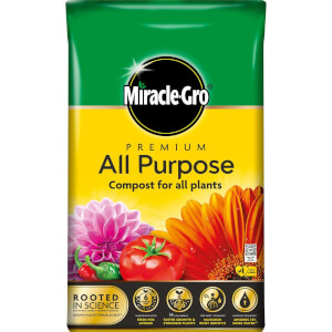 Miracle-Gro Premium All Purpose Compost - 75L