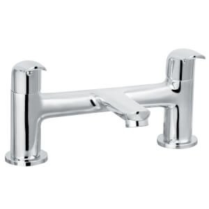 Arch Bath Filler - Chrome