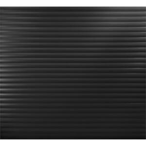 Black Insulated Electric Roller Garage Door for 2400 to 2449mm (Width)