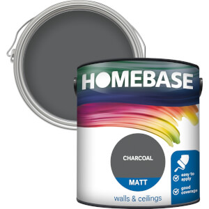 Homebase Matt Paint - Charcoal 2.5L