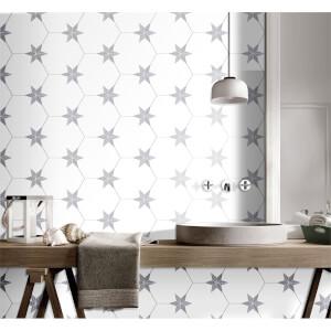 Hexagon Pattern Tile - 25x22