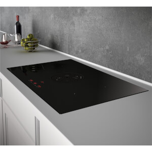 Inox Evo BE 870mm Vented Induction Hob - Ducted