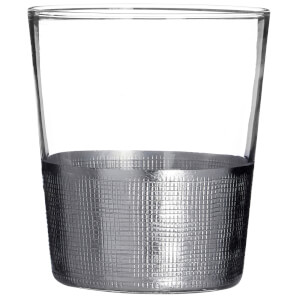 Apollo Clear Glass Tumblers - Set of 4