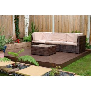 Ecodek Composite Deck Kit - Brown