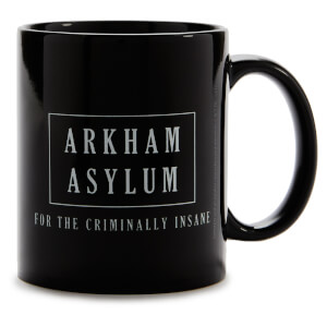 Batman Arkham Asylum Mug - Black