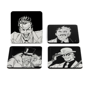 Batman Villains Icon Coaster Set