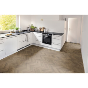 EGGER HOME Brown Weinburg Oak 8mm Laminate Flooring