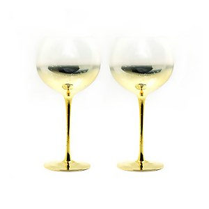 Gin Glasses - Set of 2 - Champagne Gold