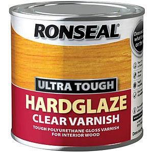 Ronseal Hard Glaze Interior Varnish Clear - 250ml