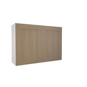 Timber Shaker Oak 1000mm Wall Unit