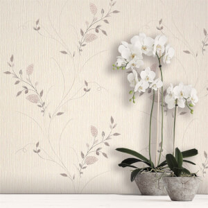 Belgravia Decor Tilly Blush Trail Wallpaper