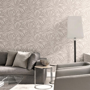 Belgravia Decor Palm Soft Beige Wallpaper