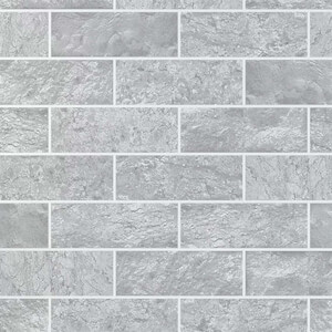 Contour Grey Tile Wallpaper