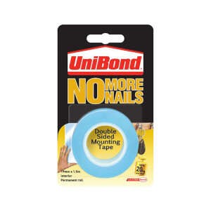 Unibond No More Nails on a Roll Interior - Translucent - 19mm x 1.5m