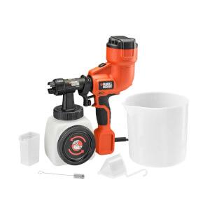 BLACK+DECKER 400W Corded Fine Paint Sprayer (HVLP200-GB)