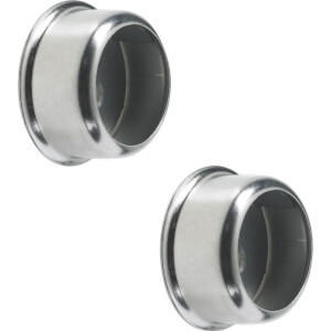 Invisifix Sockets - Chrome Plated - 19mm