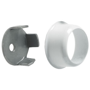 Invisifix Sockets - White - 19mm