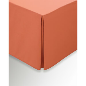 Helena Springfield Copenhagen Plain Dye Valances - Single - Coral