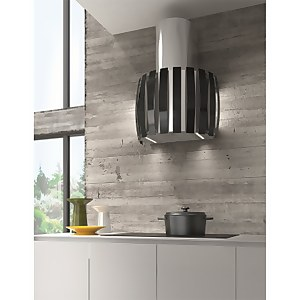Inox Kudos Wall Mounted Extractor Stainless Steel - Black