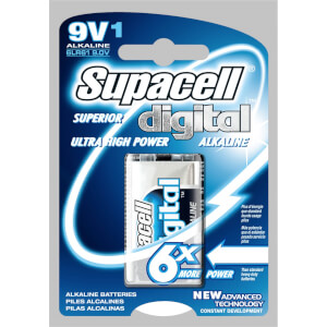 Supacell Digital 9V 1  Unit