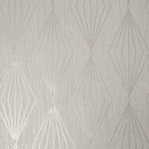 Boutique Marquise Geometric Pearl Wallpaper