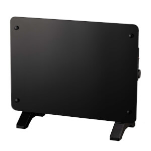 Black Glass Panel Heater 2200W