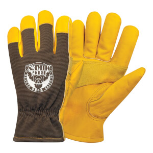 Big Mike's Leather Lined Winter Work Gloves - Large