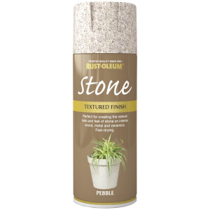 Rust-Oleum Stone Spray Paint - Pebble - 400ml