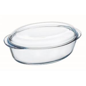 Pyrex Essentials Oval Casserole Dish - 3L & 1L