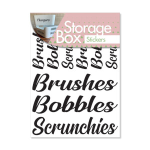 Box Stickers Brushes and Bobbles