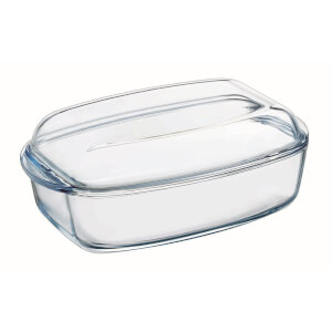 Pyrex Essentials Rectangluar Casserole Dish - 4.3L & 2.2L