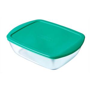 Pyrex Cook & Store Rectangular 3 Piece Food Storage Set - Green
