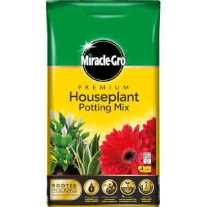 Miracle-Gro Premium Houseplant Potting Mix Compost - 10L