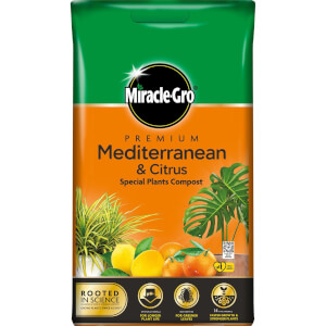 Miracle-Gro Premium Mediterranean and Citrus Compost - 6L