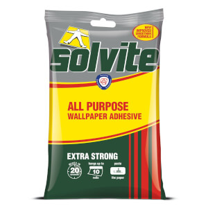 Solvite All Purpose Wallpaper Adhesive - 10 Rolls