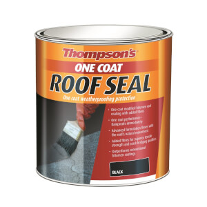 Thompsons Black One Coat Roof Seal - 5L