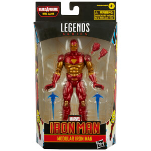 Hasbro Marvel Legends Series Iron Man Modular Iron Man Action Figure