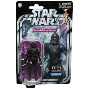 Hasbro Star Wars The Vintage Collection Gaming Greats Electrostaff Purge Trooper Action Figure