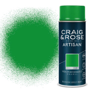 Craig & Rose Artisan Enamel Gloss Spray Paint - Grass Court - 400ml