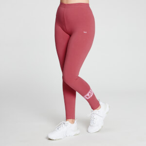 MP Women's Chalk Graphic Leggings - Berry Pink