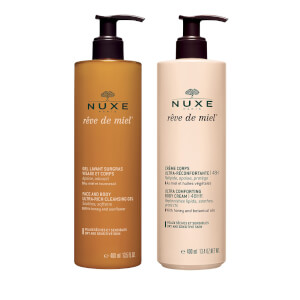 Cleansing Gel and Comforting Body Cream Duo